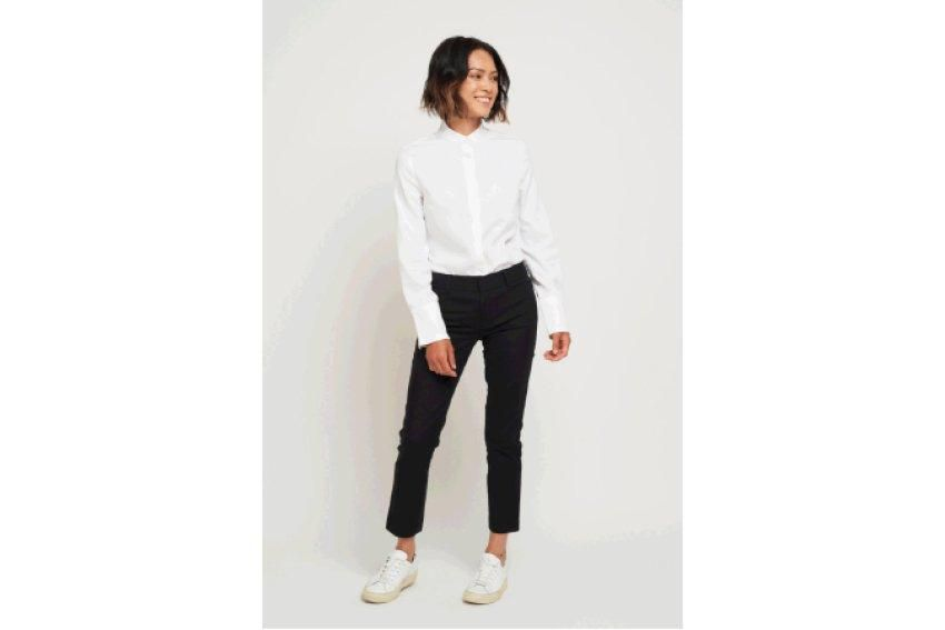 Lezé the Label shirt, $109, lezethelabel.ca