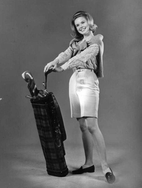Barbara Anne Harris of Greenville, South Carolina, was a 20-year-old student at Columbia College when she won the Miss Columbia pageant and earned a chance to compete for Miss Golf before the 1966 Masters.