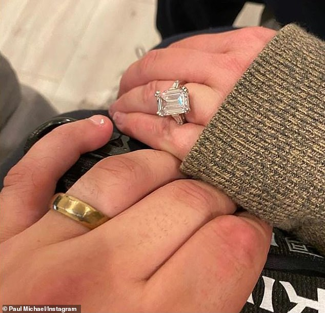 Secretly wed? Amanda's 29-year-old beau shared a snap of their hands both wearing rings on March 9, 2020